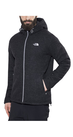 The North Face Zermatt Full Zip Men TNF Black Heather